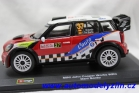 Mini john cooper works wrc č.37 rally monte carlo 2012